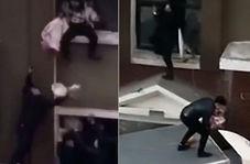سقوط نوزاد از طبقه دوم ساختمان