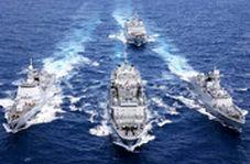 آرایش نظامی ناوهای ایران، روسیه و چین
