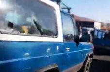 ماجرای پاترول آبی تبریز که مامور نیروی انتظامی را زیر گرفت