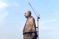 رونمایی از بلندترین مجسمهی جهان با ۱۸۲ متر ارتفاع