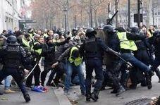 اقدام خشونت آمیز پلیس فرانسه علیه یک معلول
