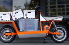 موتورسیکلتی قدرتمند و لوکس، مخصوص حمل بار