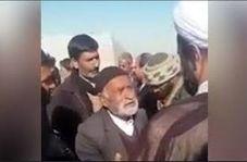 گریههای تلخ پیرمرد اصفهانی برای حق آبه