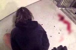 بازداشت وحشیانه دختر جوان توسط پلیس آمریکا