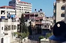 لحظه انفجار خانه مادر یک شهید و شش اسیر فلسطینی از زاویهای متفاوت