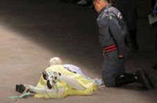 مرگ مانکن ۲۶ ساله روی صحنه شوی سائوپائولو
