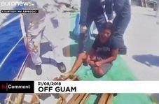 نجات یک نوجوان پس از ۴۹ روز سرگردانی در دریا
