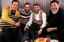 اشک های بی امان حامد آهنگی برای علی انصاریان در پخش زنده + فیلم