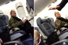 اعتراض عجیب مسافر زن به حضور نوزاد در داخل هواپیما!